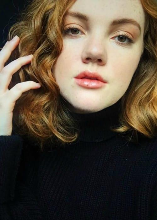 Shannon Purser in a selfie in November 2017