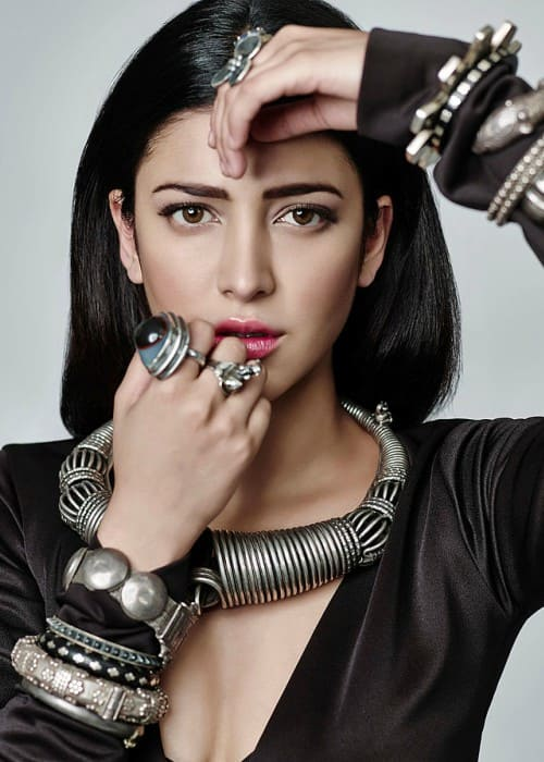Shruti Haasan as seen in May 2007