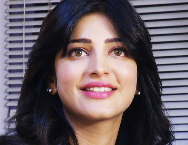 Shruti Haasan during an interview in July 2013