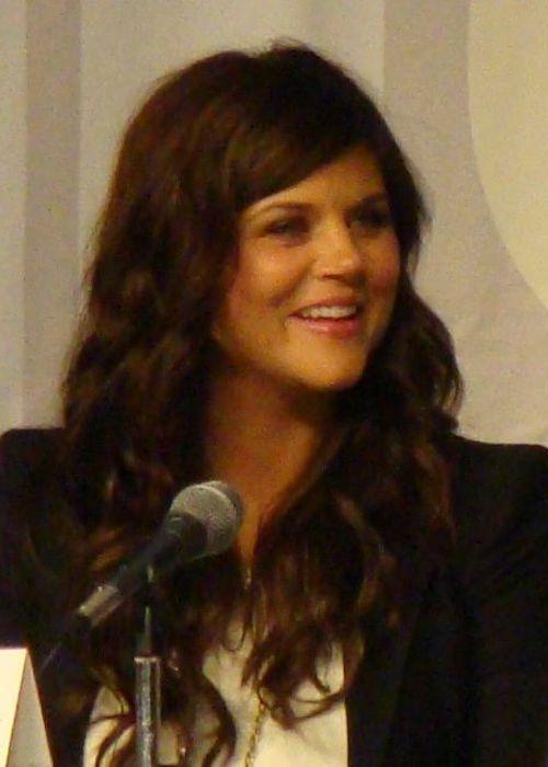Tiffani Thiessen at the Comic-Con San Diego in 2010