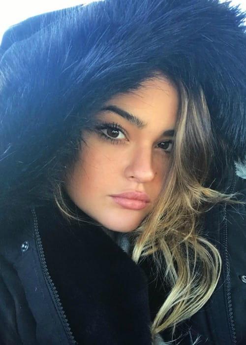 Vale Genta in an Instagram selfie as seen in February 2018
