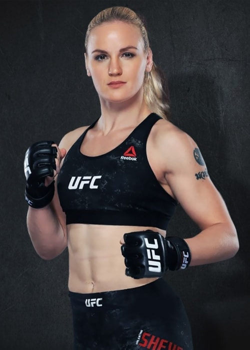 Valentina Shevchenko as seen in June 2018