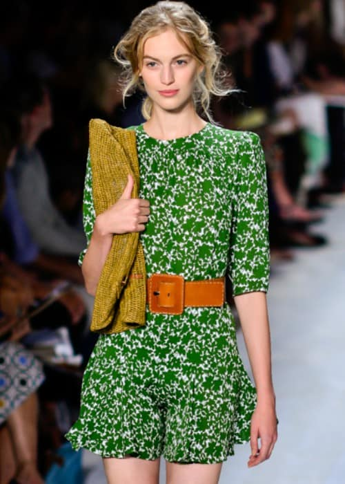 Vanessa Axente at the Michael Kors SpringSummer 2014 fashion show in September 2013