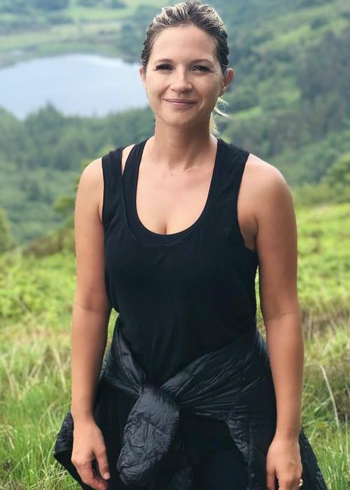 Vanessa Ray as seen in June 2018