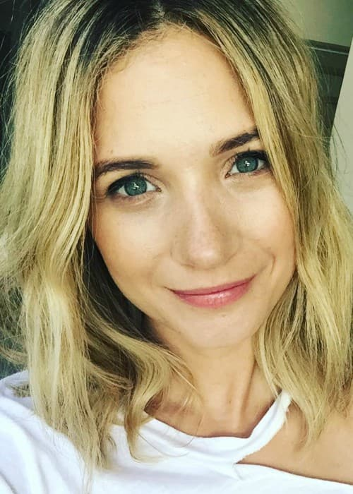 Vanessa Ray in an Instagram selfie as seen in June 2017