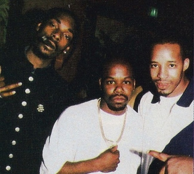 Warren G pictured with Snoop Dogg (Left) and Too $hort (Middle)