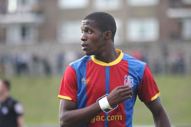 Wilfried Zaha as seen in July 2012