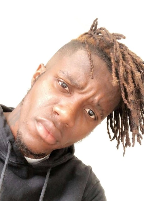 Wilfried Zaha in a selfie in August 2018