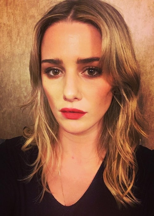 Addison Timlin as seen in October 2017