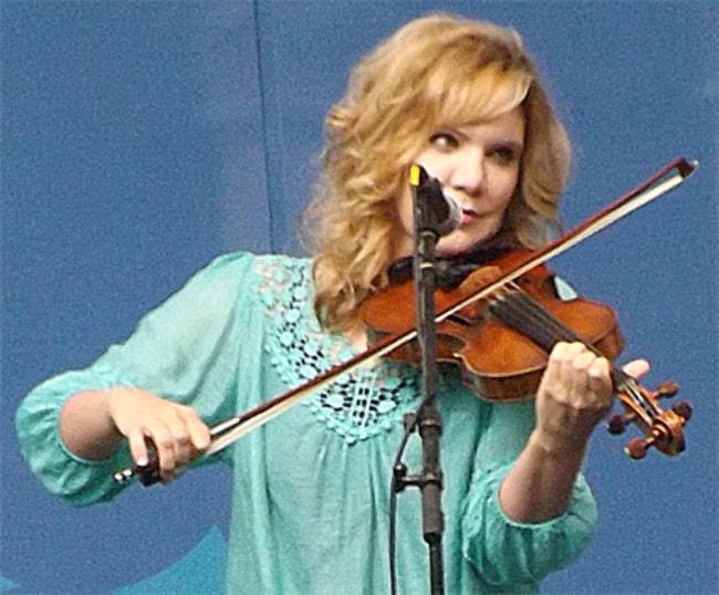 Alison Krauss as seen in July 2013