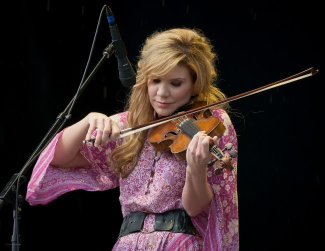 Alison Krauss as seen while performing at Austin City Limits Music Festival 2011