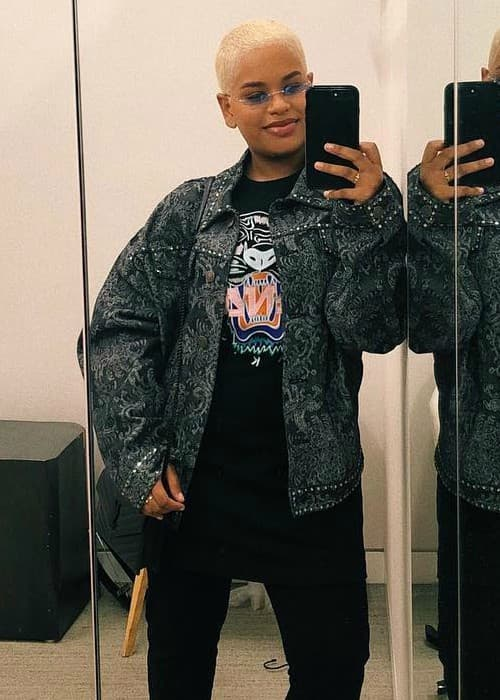 Alissa Ashley in a selfie in March 2018