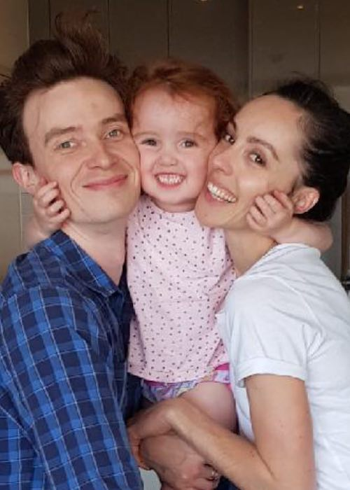 Amy Harris with her family