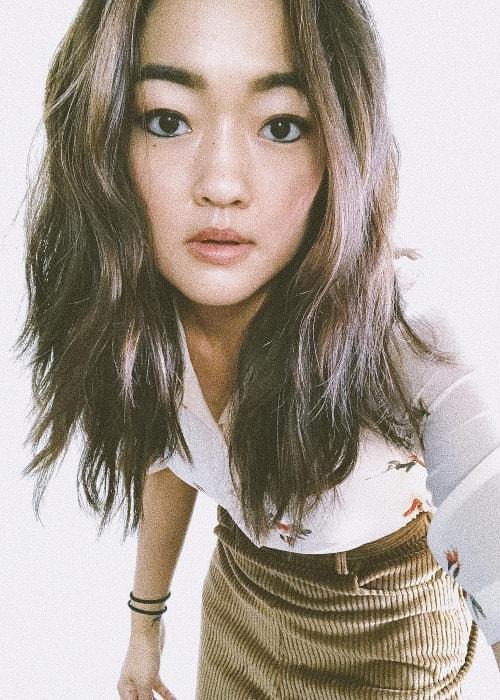 Amy Okuda as seen in a selfie in September 2018