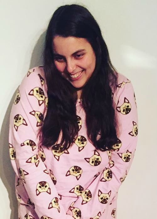 Beanie Feldstein in an Instagram post in March 2017