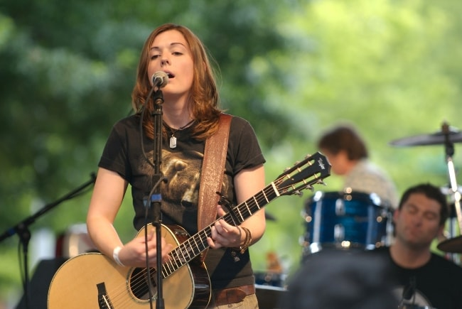 Brandi Carlile as seen during one of her performances in June 2005