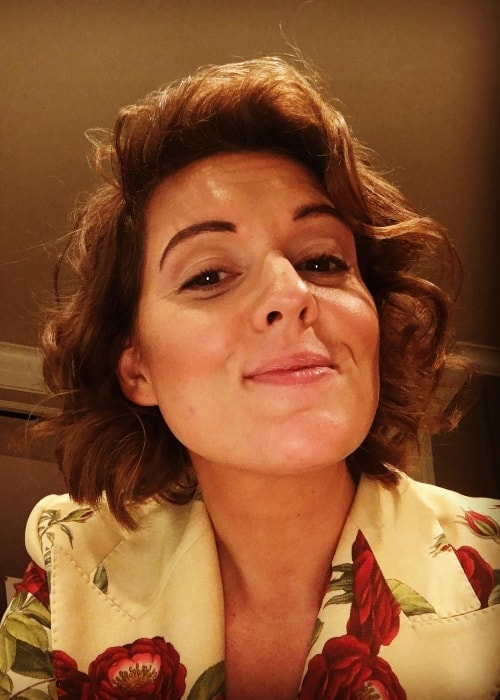 Brandi Carlile in a selfie in September 2018