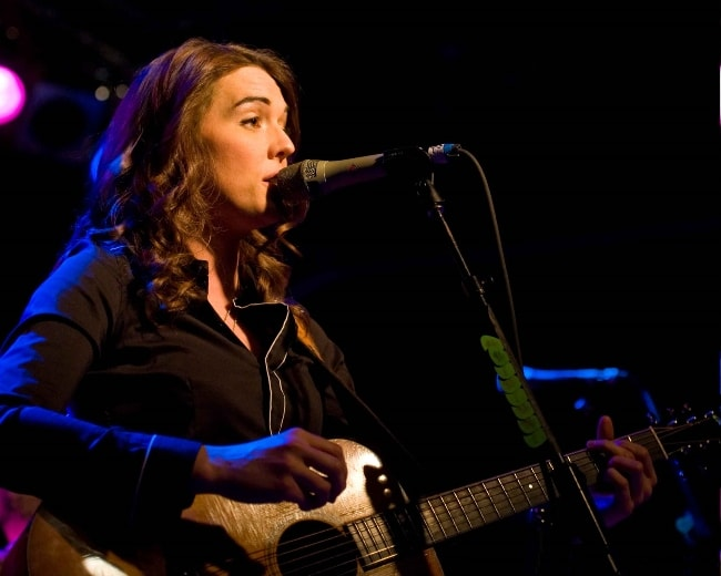 Brandi Carlile performing in Seattle in November 2010