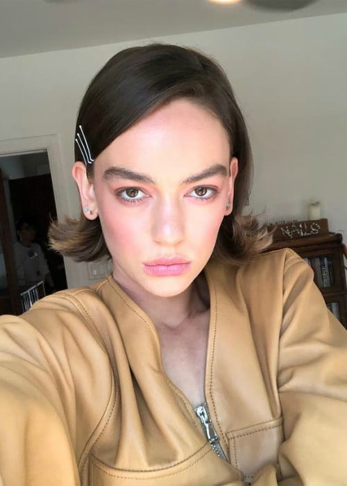 Brigette Lundy-Paine in a selfie in April 2018
