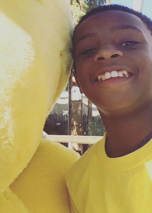 Caleel Harris in an Instagram selfie as seen in December 2016