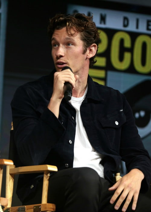 Callum Turner as seen in July 2018