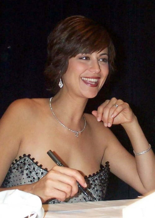 Catherine Bell as seen in January 2001
