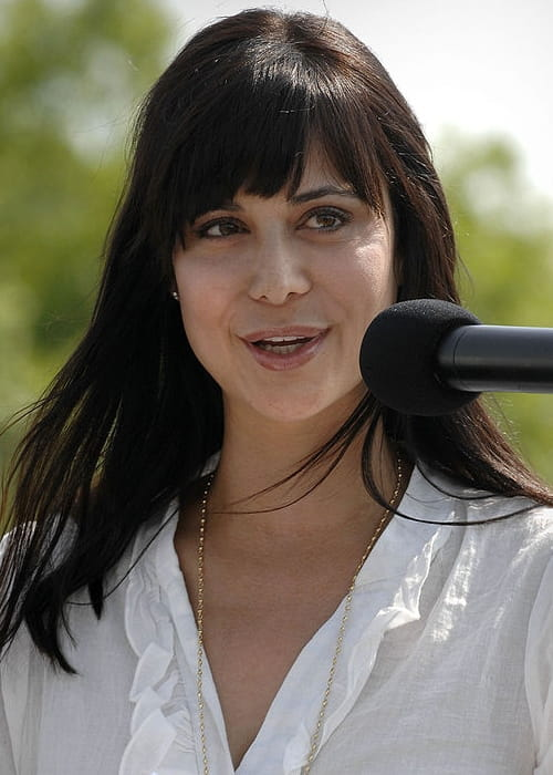 Catherine Bell at the 2nd annual National Capital Region Joint Services motorcycle safety event in May 2008