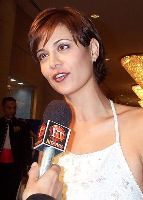 Catherine Bell during an event in November 2000