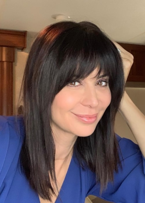 Catherine Bell in an Instagram selfie as seen in October 2018