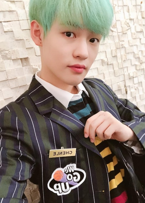 Chenle as seen in September 2018