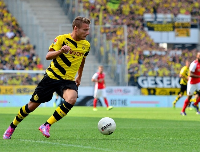 Ciro Immobile as seen during a game in July 2014
