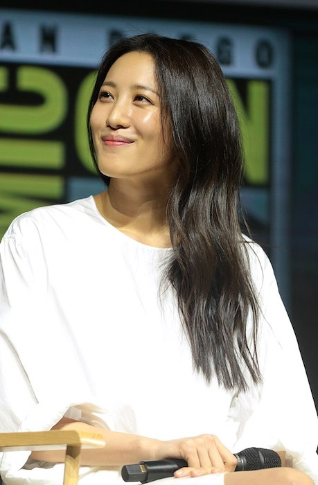 Claudia Kim at the 2018 San Diego Comic-Con International