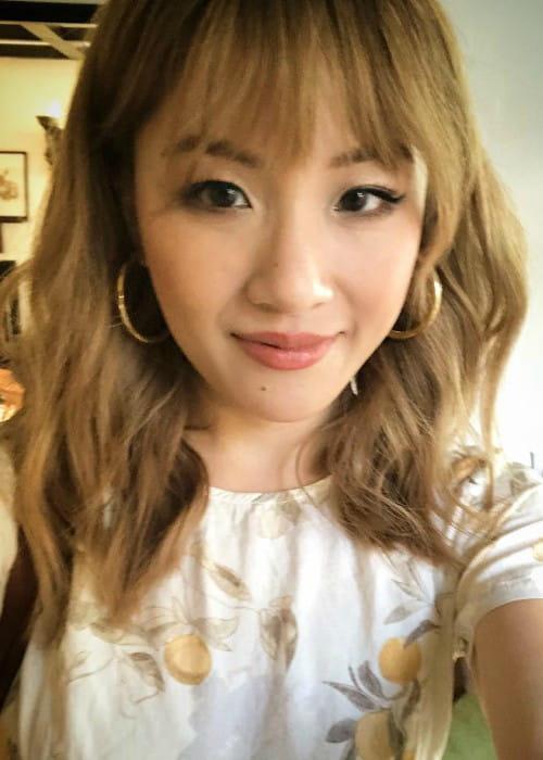Constance Wu in an Instagram selfie as seen in April 2018