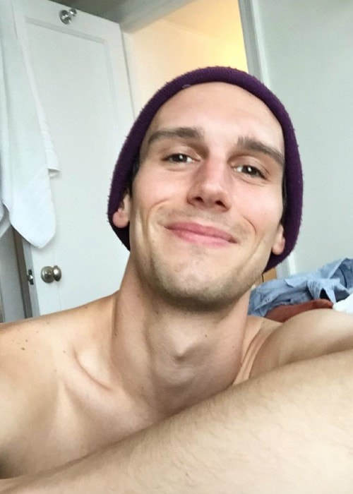 Cory Michael Smith in an Instagram selfie as seen in September 2018