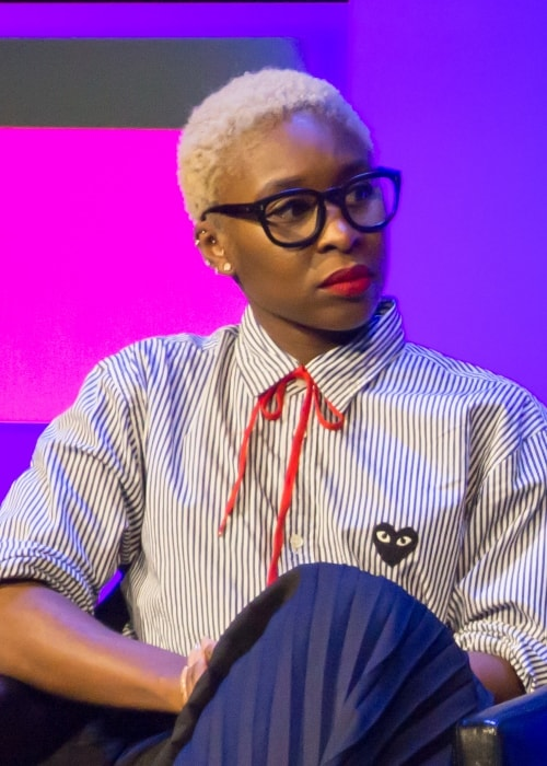 Cynthia Erivo at the 2018 Tribeca Film Festival