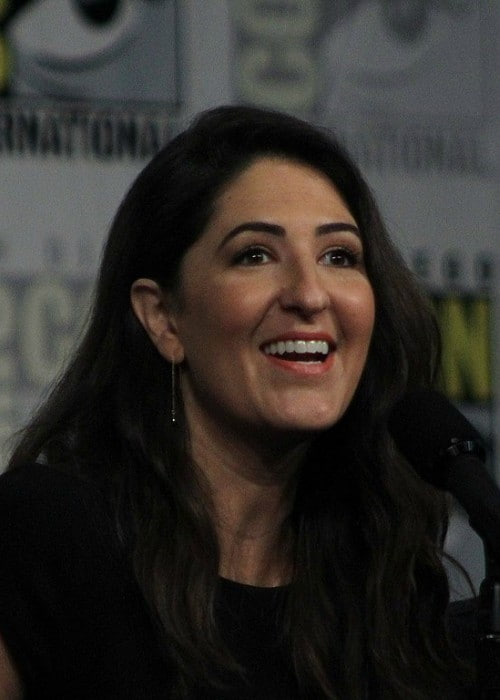 D'Arcy Carden at San Diego Comic Con in July 2018
