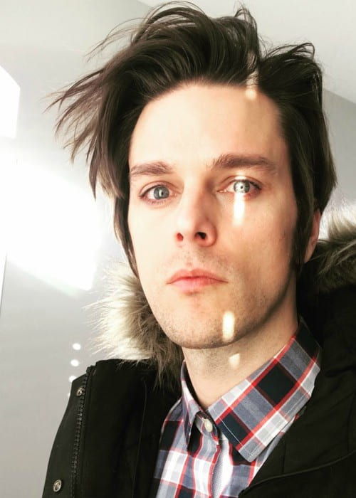 Dallon Weekes in an Instagram selfie as seen in December 2017