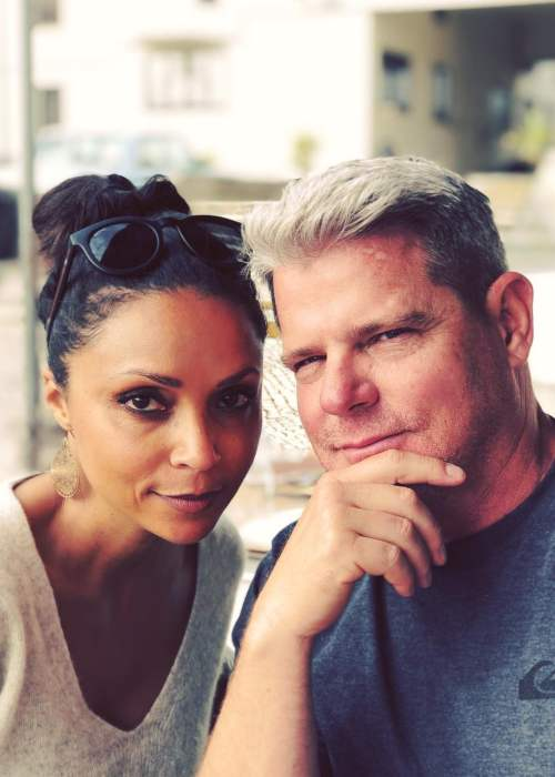 Danielle Nicolet and Mike Kussman as seen in June 2018
