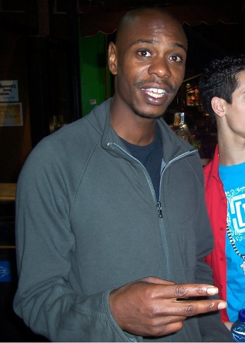 Dave Chappelle as seen in October 2007