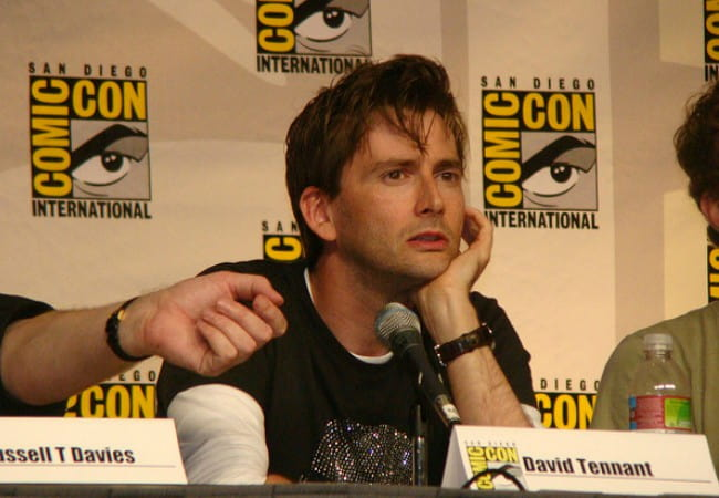 David Tennant at the 2009 San Diego Comic-Con