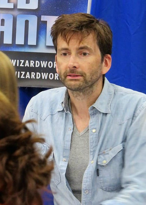 David Tennant during an event in August 2017