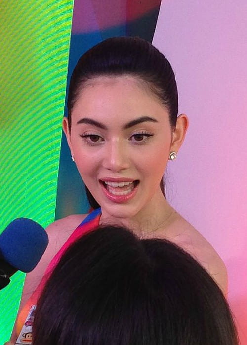 Davika Hoorne at Emquartier as seen in August 2015