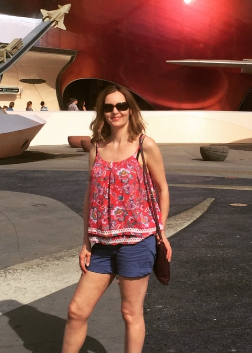 Debra Stephenson at Walt Disney World in April 2018