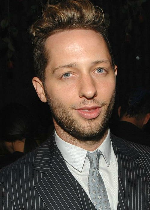 Derek Blasberg during an event in February 2013