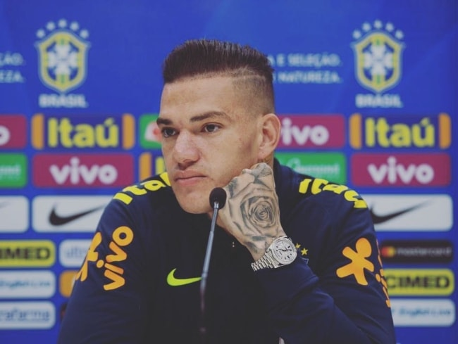 Ederson as seen in October 2018