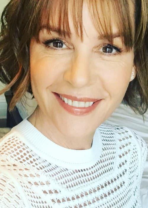 Embeth Davidtz in a selfie as seen in April 2018