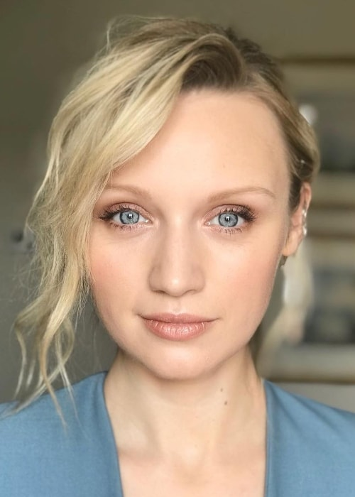 Emily Berrington at The Savoy in July 2018