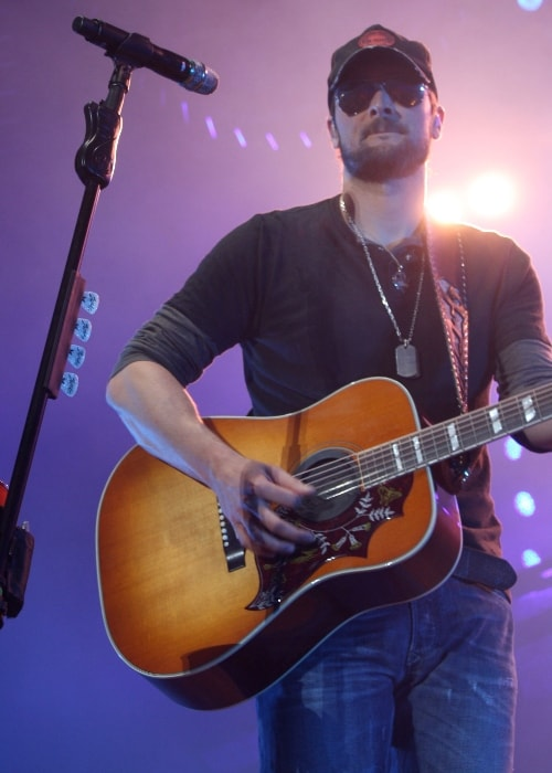 Eric Church as seen in July 2012