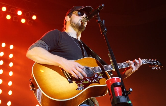 Eric Church as seen while performing in July 2012