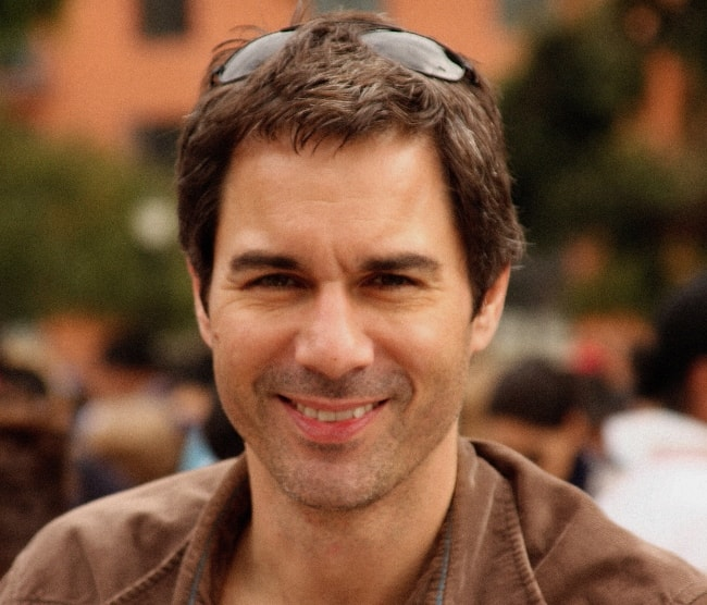 Eric McCormack in California in December 2008